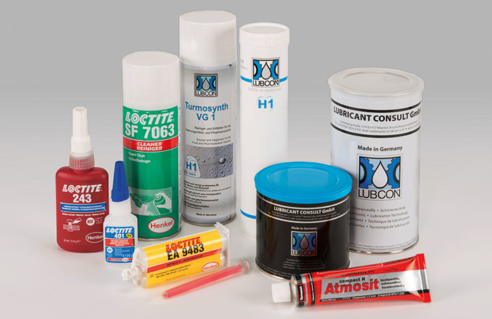 Picture product overview adhesives, sealants and lubricants