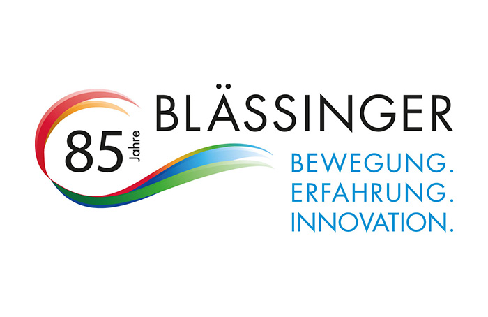 Picture of the Blässinger anniversary logo 85 years