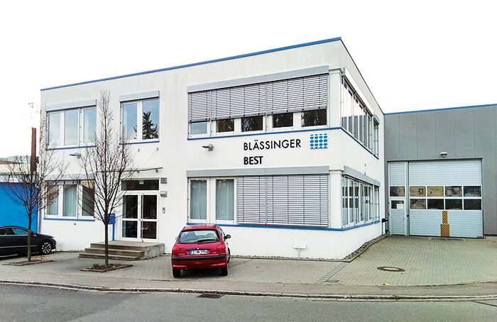 Picture of the of the company building from Blässinger Engineering Service + Technologie GmbH (BEST)