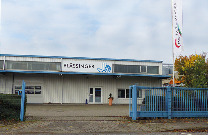Picture of Blässinger Hamburg branch 1999
