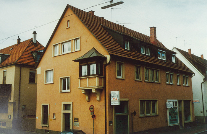 Picture of the Blässinger Heilbronn branch 1949