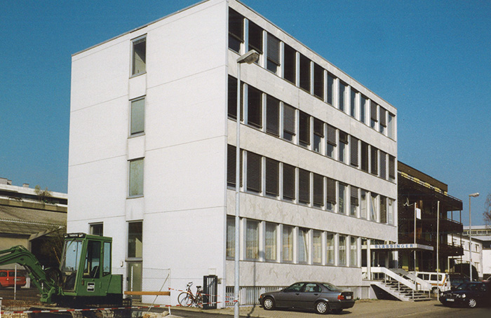 Picture of the Blässinger head office in Ostfildern Kemnat 1969